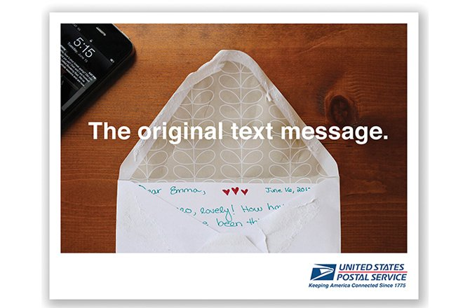 USPS - The original text message
