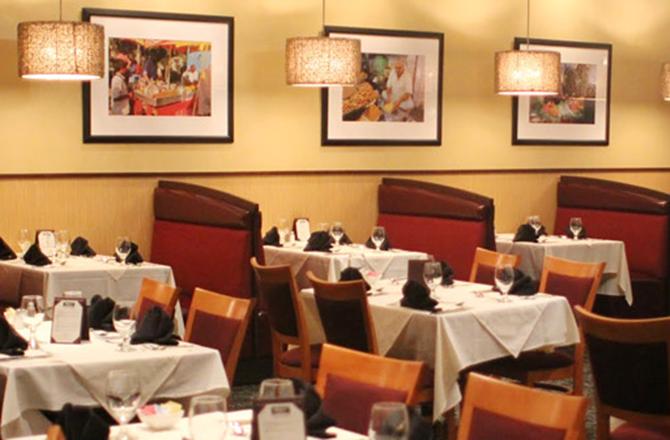 Amaya Indian Cuisine interior